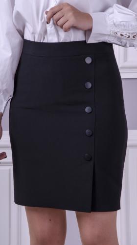 [052:] Юбка костюмка (черный)