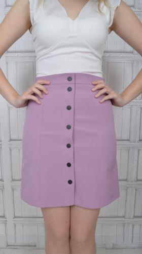 [053:] Юбка костюмка (фиолетовый)