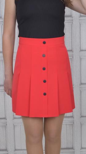 [063:] Юбка костюмка (красный)